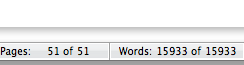 This is what 15,000 words and 51 pages looks like...