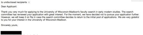 regrets--Wisconsin-Madison